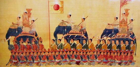 yamada nagamasa tropas