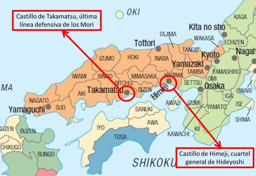 mapa campaña takamatsu