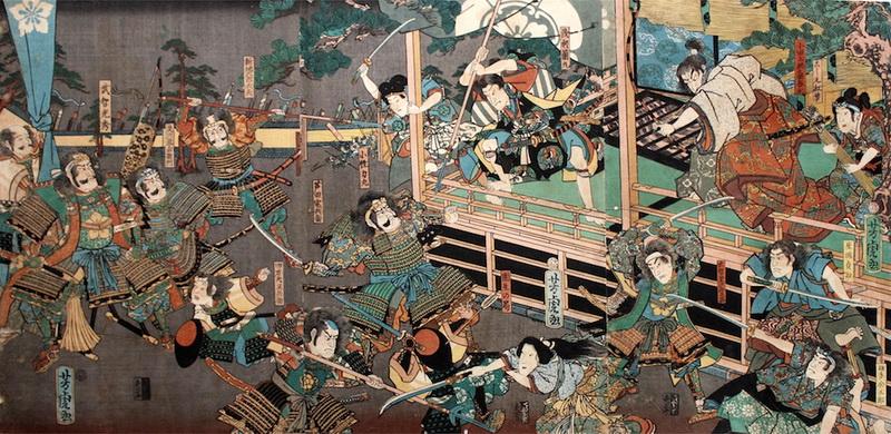 incidente honnoji oda nobunaga akechi mitsuhide