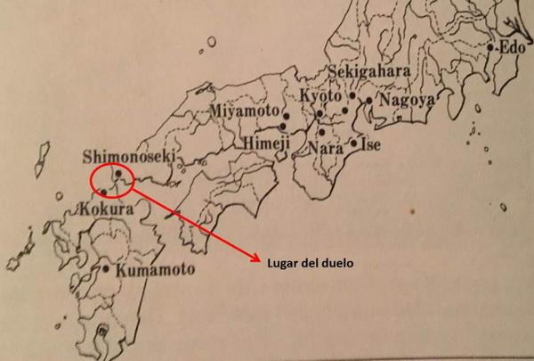 mapa musashi
