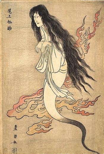 oiwa fantasma ukiyoe yotsuya kaidan 2
