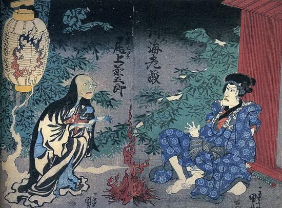 Yotsuya Kaidan, una historia japonesa defantasmas
