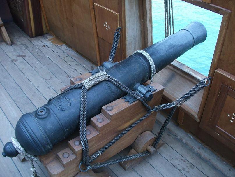 cañon galeon español siglo xvi