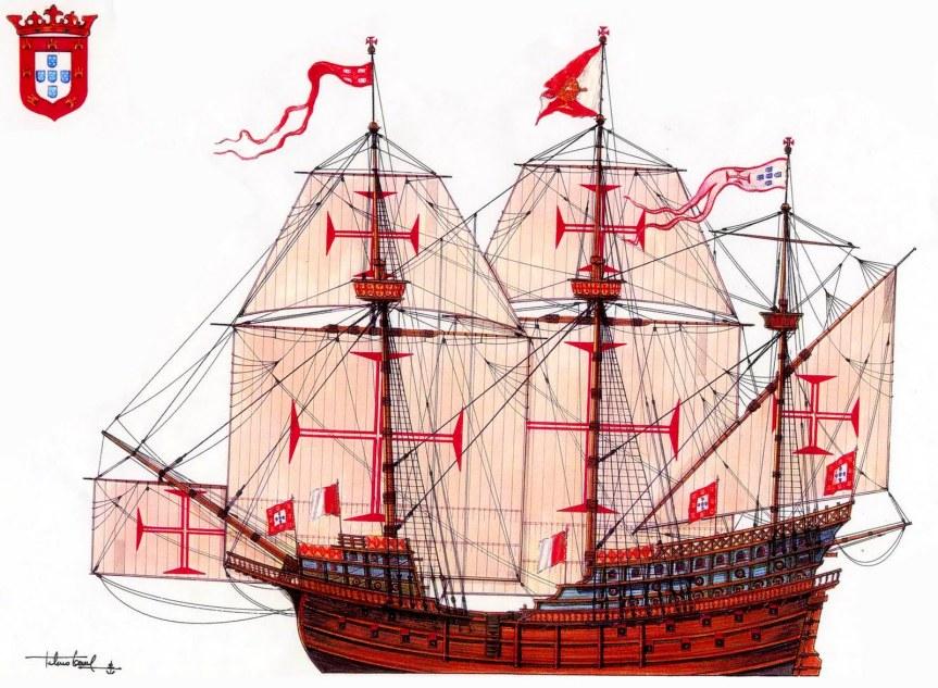 kurofune carraca portuguesa