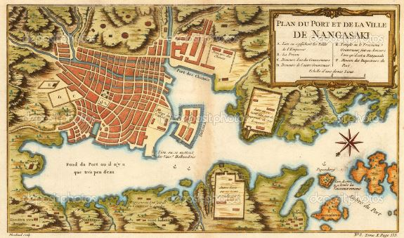 nagasaki mapa puerto