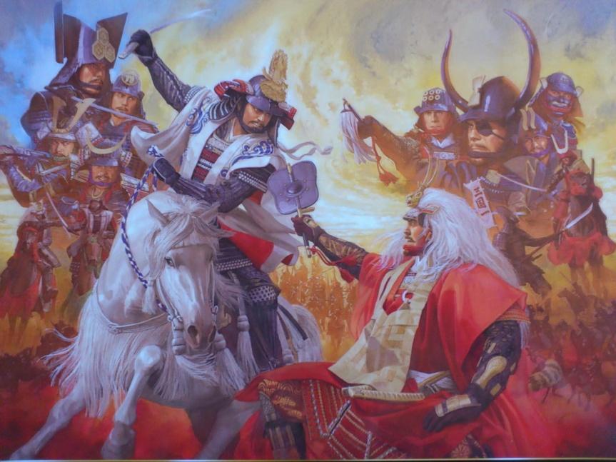 kawanakajima takeda shingen uesugi kenshin duelo