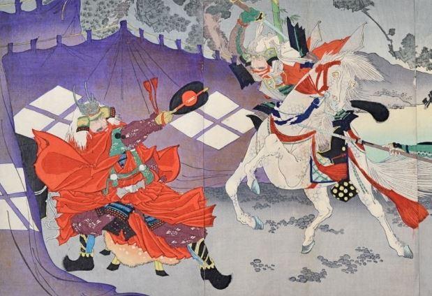 kawanakajima takeda shingen uesugi kenshin
