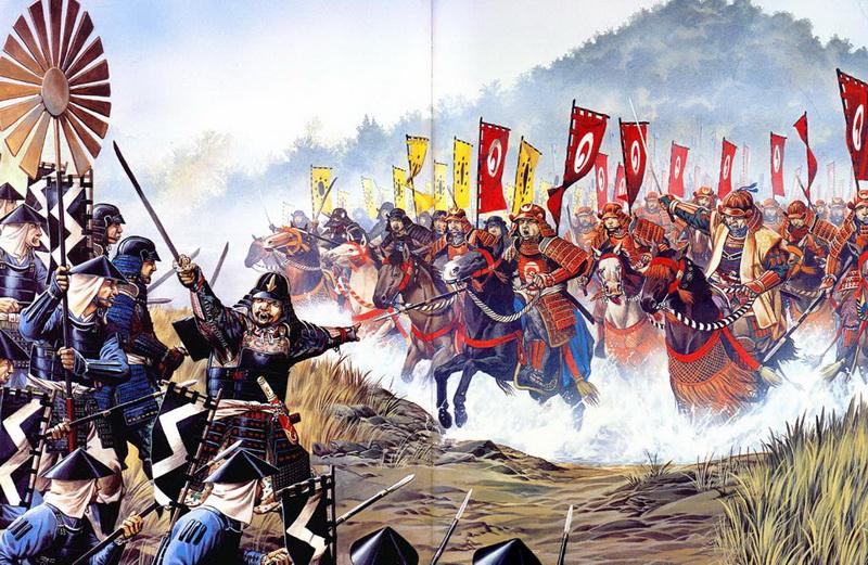 kawanakajima batalla takeda uesugi